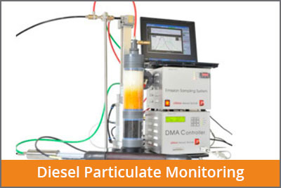 particulate diesel monitoring
