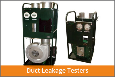 duct leakage testers