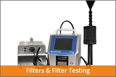 filters and filter testing