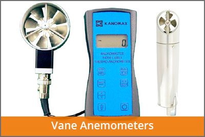 vane anemometers laftech
