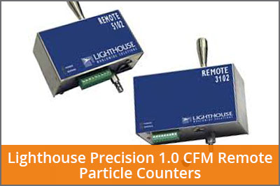 1.0 cmf remote particle counters