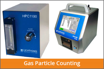 gas particle counters