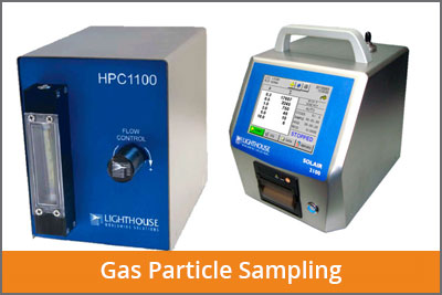gas particle sampling