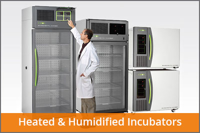 heated and humidified incubators