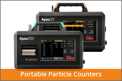 Portable particle counters laftech