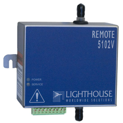 5102V remote particle counter
