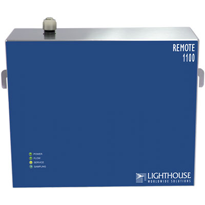 1100LD remote particle counter