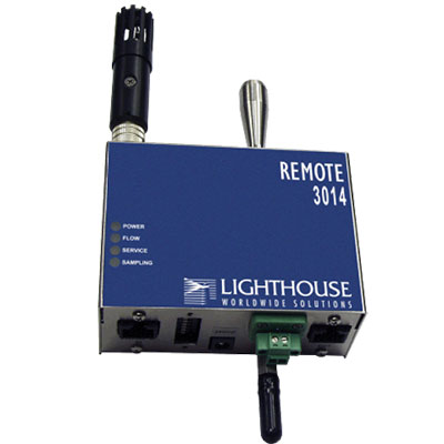 3014 remote particle counter