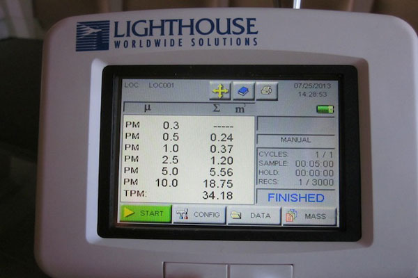 6 Simultaneous PM Dust Fractions for Only $6,500