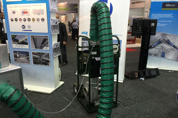 Oriflow Cobra Duct Leakage Tester - A Big Hit at ARBS
