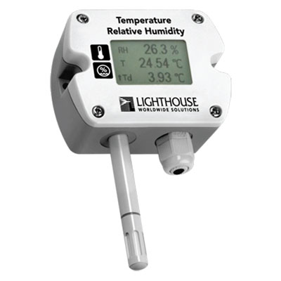 lighthouse temperature and humidity sensor