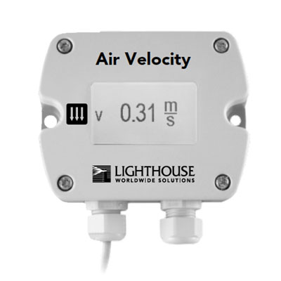 lighthouse air velocity sensor