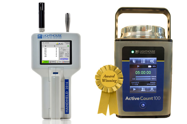 Particle Counter & Microbial Air Sampler Starter Kit