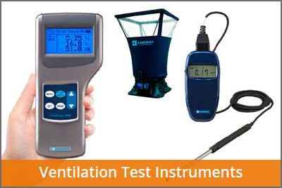 ventilation test instruments laftech