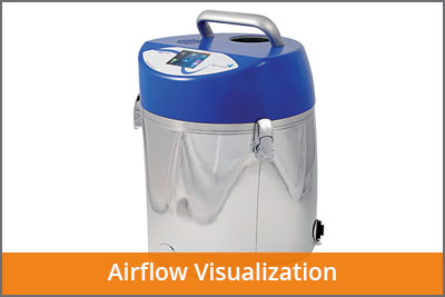 airflow visualisation