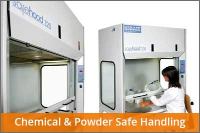 chemical and powder handling