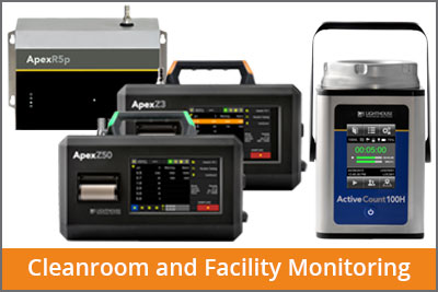 laftech cleanroom and facility monitoring