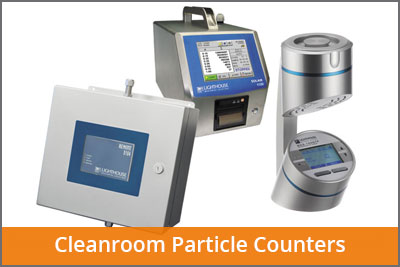 cleanroom particle counters laftech