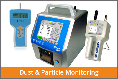 dust and particle monitoring