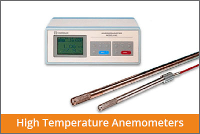 high temperature anemometers laftech