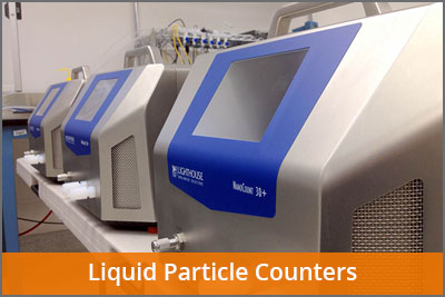 liquid particle counter calibration