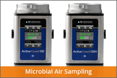 laftech microbial air sampling