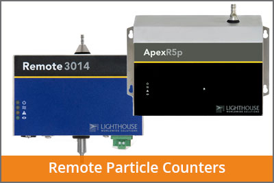 laftech remote particle counters