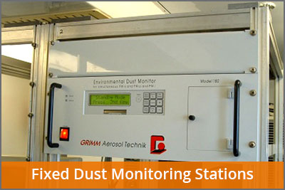 fixed dust monitoring stations