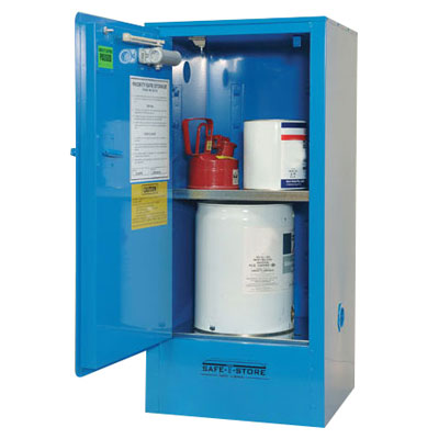 Safe-t-storage corrosive substances