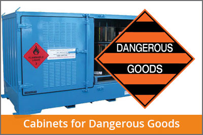 dangerous goods cabinets