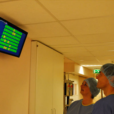 hospital environmental monitors