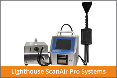 lighthouse scanair pro systems