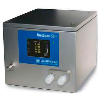 lighthoue nanocount 50+ liquid particle counter