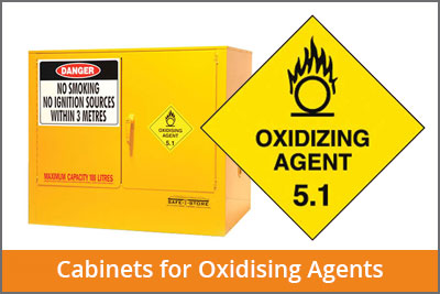 oxidising agents cabinets