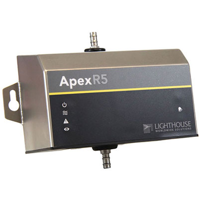 Lighthouse Apex r5 remote particle counter