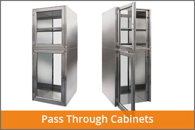 pass through cabinets