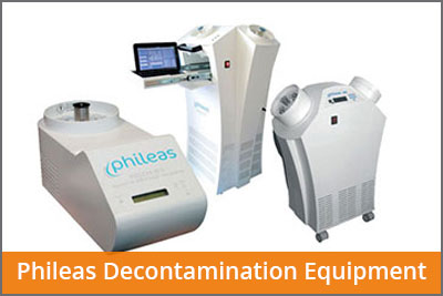 Phileas decontamination
