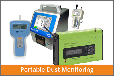 portable dust monitoring