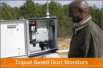 tripod based dust monitors