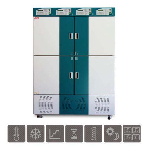 Programmable Multi-Room Refrigerated Incubator JSMI-04CP(L)