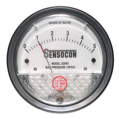 Differential Pressure Gauge - Series S2000