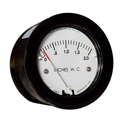 Miniature Low-Cost Differential Pressure Gauge - Series S-5000