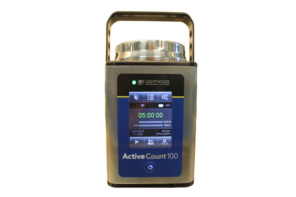 New Lighthouse ActiveCount 100 Microbiological Air Sampler