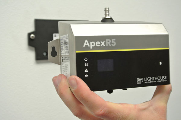 NEW Lighthouse APEX Remote Particle Counters
