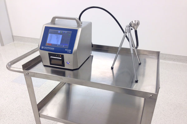 Firmware Update For Lighthouse Solair Particle Counters