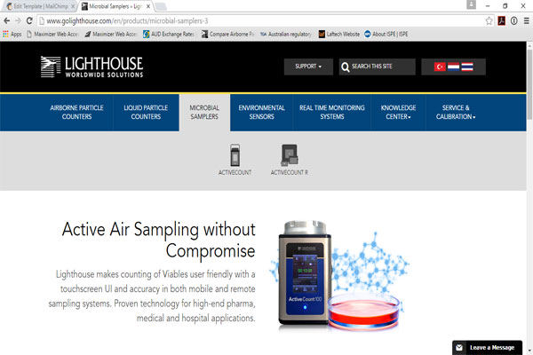 Lighthouse Launches NEW Website