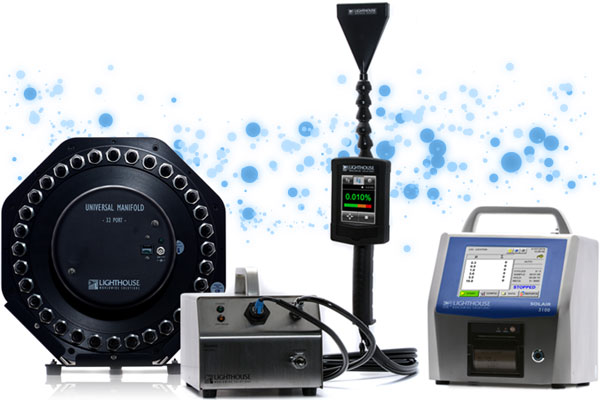 The Most Versatile Portable Particle Counters on the Market