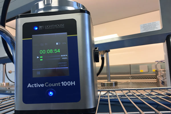 NEW – Lighthouse ActiveCount 100H Microbial Air Sampler
