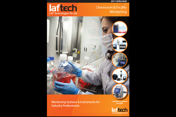 New 32 Page Cleanroom & Facility Monitoring Catalogue