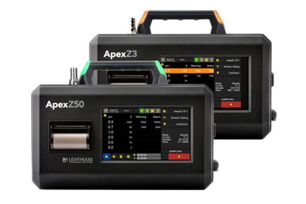 Lighthouse APEX Z Series Particle Counter Videos On Youtube